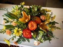 Basket Of Autumn Memories  Bsket Of Seasonal Color