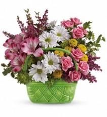 Basket Of Beauty T14E100A