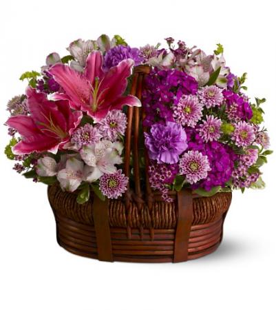Basket of Bliss HFWEB373