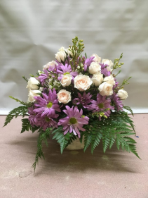Basket of Blooms fresh arrangement