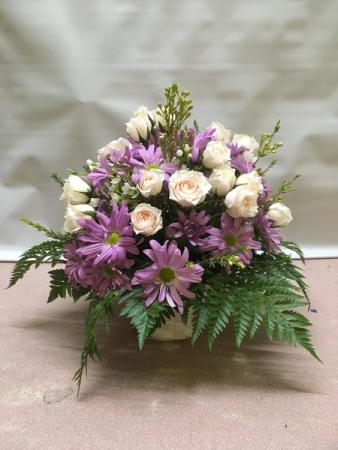 Basket of Blooms fresh arrangement