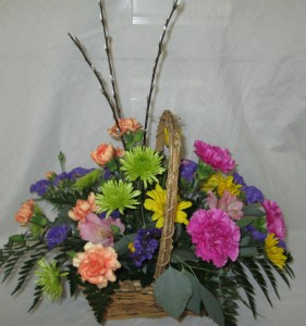 Basket of Blooms Inspirations Original Design