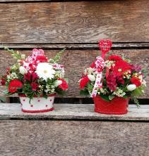 Basket of Blooms VA6