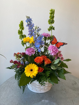 Basket of Brightness  in La Grande, OR | FITZGERALD FLOWERS