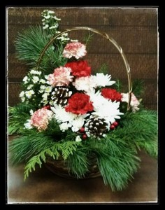 Basket  of cheer  in Vernon, BC | SIMPLY BASKETS AND HARRIS FLOWERS
