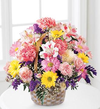 Basket of Cheer Fresh Arrangement