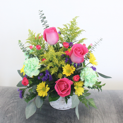 BASKET OF CHEERS BOUQUET