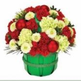 Basket of Christmas Cheer Arrangement