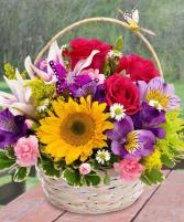 Debi's garden basket