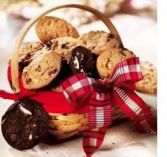 BASKET OF COOKIES Gift Basket