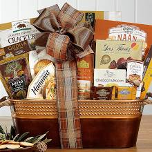 Basket of gourmet