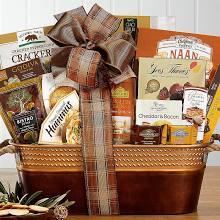 Basket of gourmet