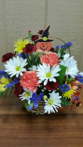 Basket of Halloween Fun