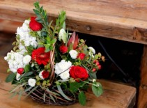 Basket of Hearts Custom Arrangement