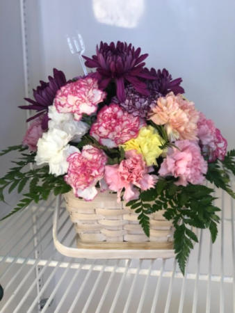 Basket of Hope Fresh Flowers