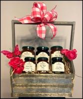 Basket of Jams Gift basket