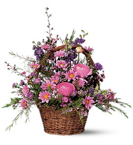 Basket of Lavender Blooms  in Presque Isle, ME | COOK FLORIST, INC.