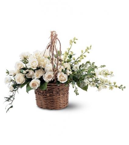 Basket of Light Basket Arrangement