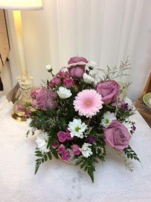 Basket of Love  All around arrangment in Berwick, LA | TOWN & COUNTRY FLORIST & GIFTS, INC.