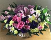 BASKET OF LOVE Funeral Arrangement