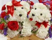 Basket of Love Puppy Basket