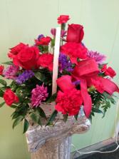 Basket of Love Valentines