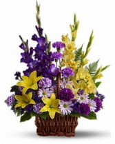 Grandeur Purple Basket