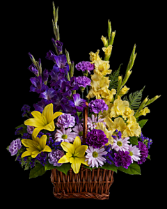 Basket of Memories Condolances  in White Oak, PA | Breitinger's Flowers & Gifts