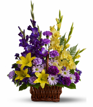 Basket of Memories Fresh Arrangement in Rossville, GA | Ensign The Florist