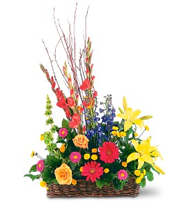 Sincere Sympathy Funeral Basket