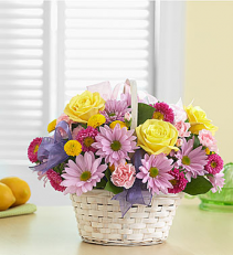 Basket of Spring Arrangement