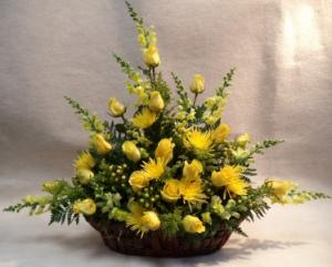 Basket of Sunshine  in Port Huron, MI | CHRISTOPHER'S FLOWERS