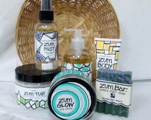 Basket of Zum Gift Basket in Lock Haven, PA   INSPIRATIONS FLORAL STUDIO