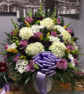 Basket Purple! FUNERALS