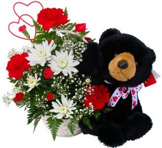 Basket W- Black Bear