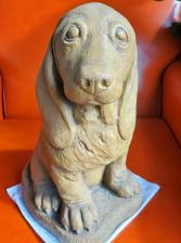Basset Hound Pup Massarelli Fine Stone