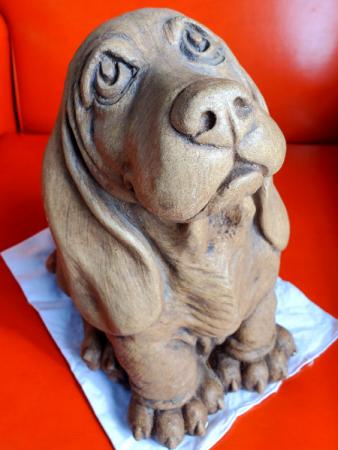 Basset Hound Puppy Eyes Massarelli Fine Stone