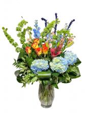 Best Wishes Bouquet Flower Arrangement