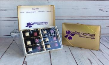"BaTer Liquor Filled Chocolates ""True Liquor Filled 70% Premium Dark Chocolate""Add To Any Floral Order"
