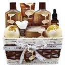 Bath & Body Gift Basket -Vanilla Coconut Home Spa  Bath & Spa Basket