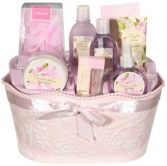 BATH & BODY LOTION GIFT BASKET