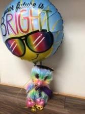 Grad idea Grad plush and balloon