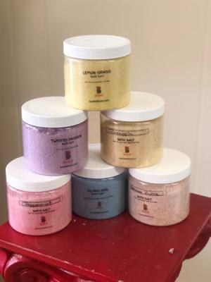 Bath Salt  in Bartlett, TN | NATURALLY CRAFT'D