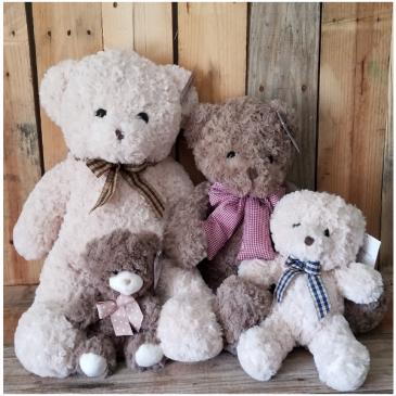 Baxter Bears plush