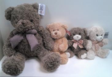 Baxter's Bears Stuffed Animals