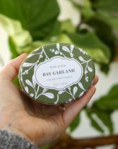 Bay Garland Travel Tin Candle