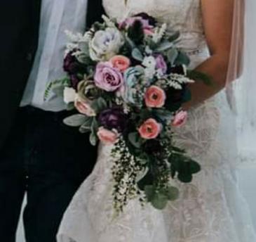 """""""Bayside"""" Bridal bouquet"""