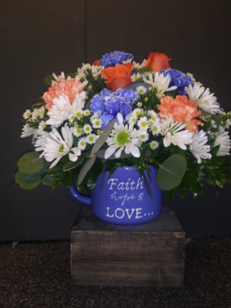 Be Blessed XL Mug Bouquet