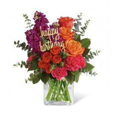 Be Bold Birthday Bouquet