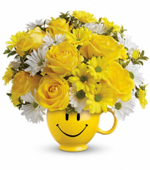 Be Happy Bouquet  Get Well Flowers